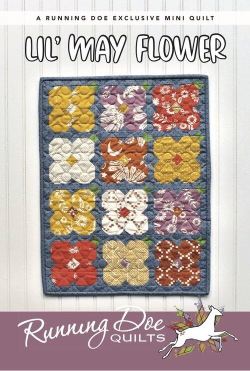 Lil' May Flowers by Running Doe Quilts