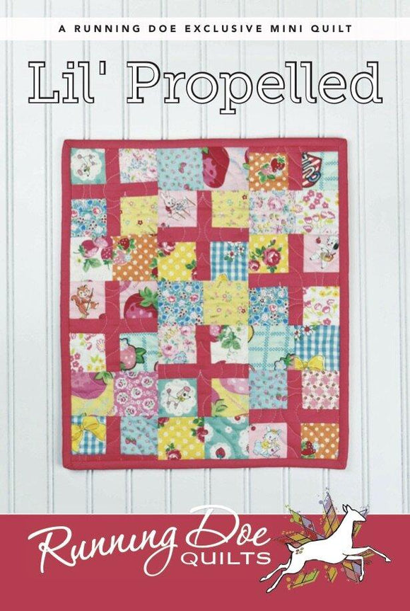 Lil' Propelled Pattern by Running Doe Quilts