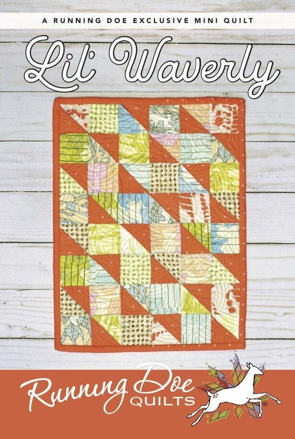 Lil' Waverly Pattern by Running Doe Quilts