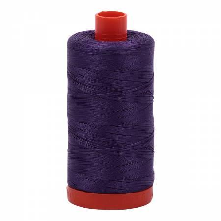 Mako Cotton Thread Solid 50wt 1422yds Dark Violet 2582