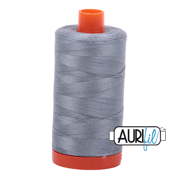 Mako Cotton Thread Solid 50wt 1422yds Light Blue Grey 2610