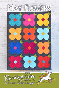 May Flowers by Running Doe Quilts