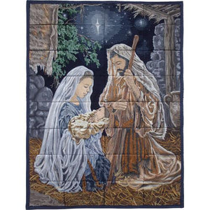 O Holy Night - Machine Embroidery on USB