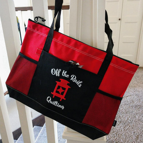 Off the Rails Quilting Rail Bag