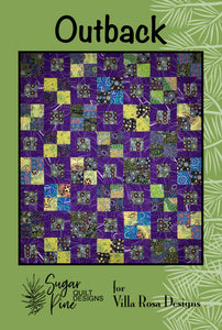 Outback by Sugar Pine Quilt Designs for Villa Rosa Designs