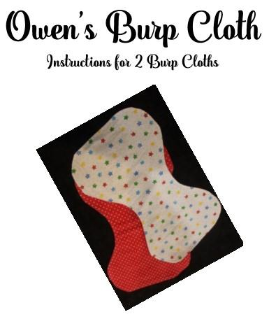 Owen's Burp Cloth Pattern