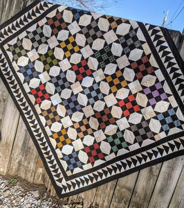 Papa's Shirttails Quilt by Tea for Two Designs