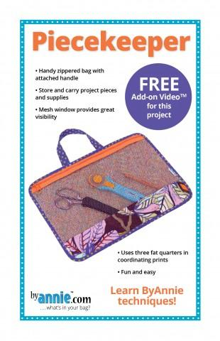 Piecekeeper Project Bag Pattern from By Annie