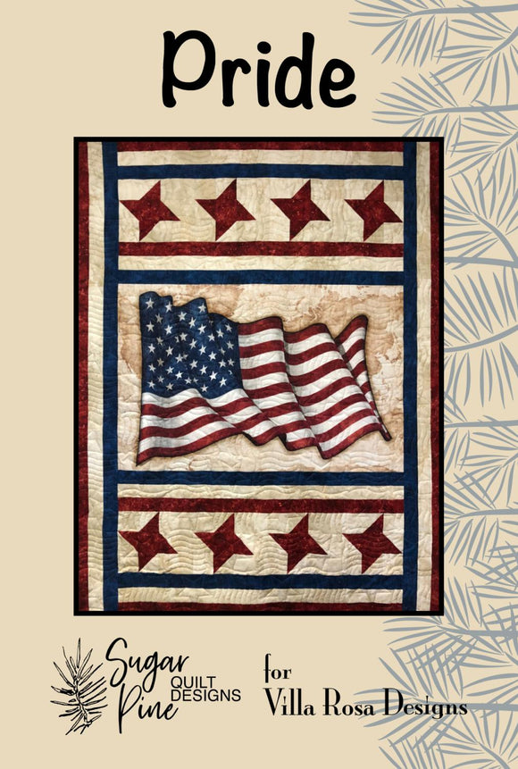 Pride by Sugar Pine Quilt Designs for Villa Rosa Designs
