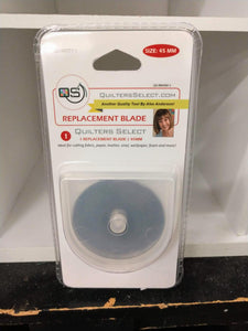 Quilters Select 45mm Replacement Blades 1 Pack