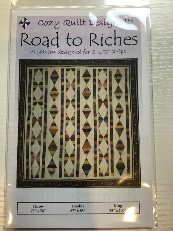 Road to Riches by Cozy Quilt Designs