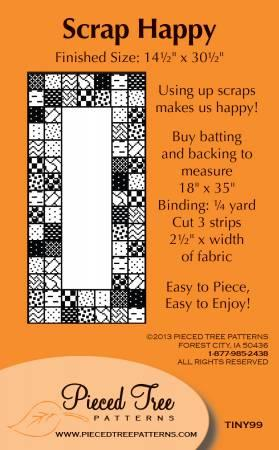 Scrap Happy by Pieced Tree Patterns