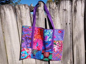 Scrappy Bag by Off the Rails Quilting