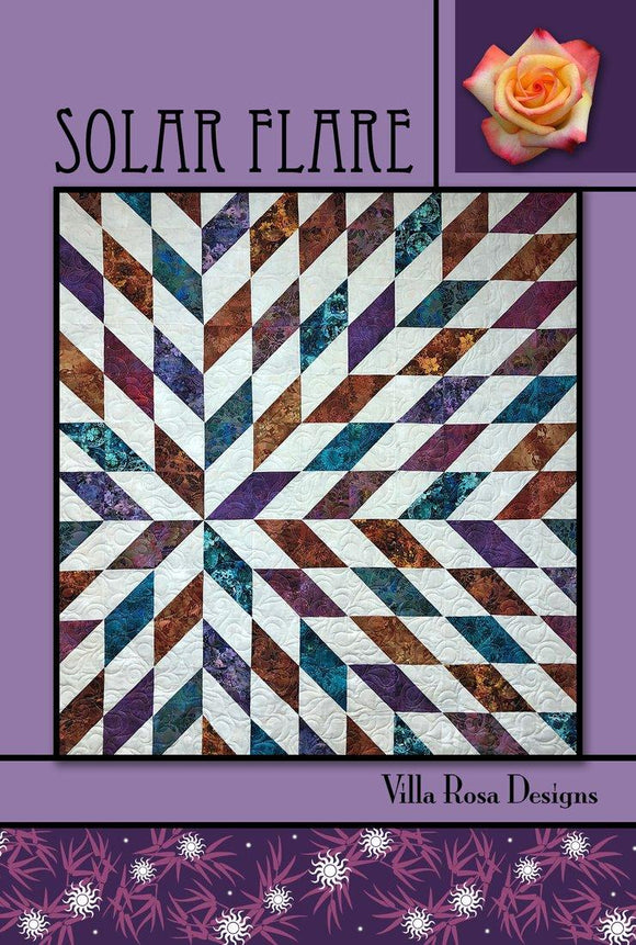 Solar Flare Pattern by Villa Rosa Designs