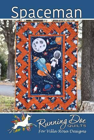Spaceman by Running Doe Quilts of Villa Rosa Designs