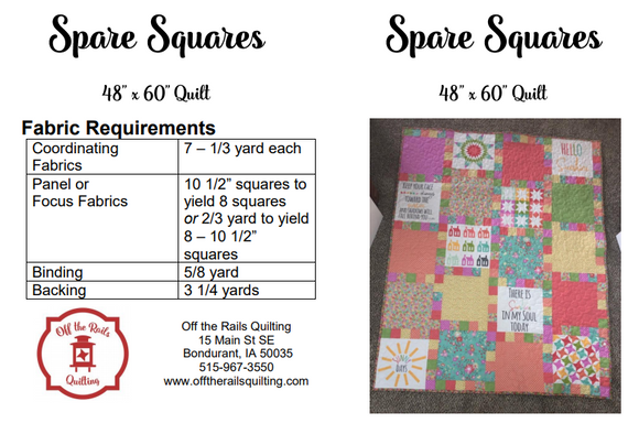 Spare Squares Pattern