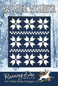 Sweater Weather by Running Doe Quilts for Villa Rosa Designs