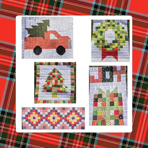 Tensisters Holiday Pattern Bundle