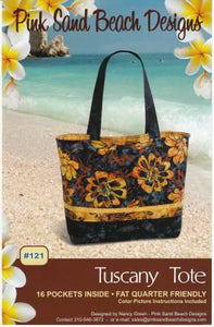 Tuscany Tote by Pink Sand Beach Designs