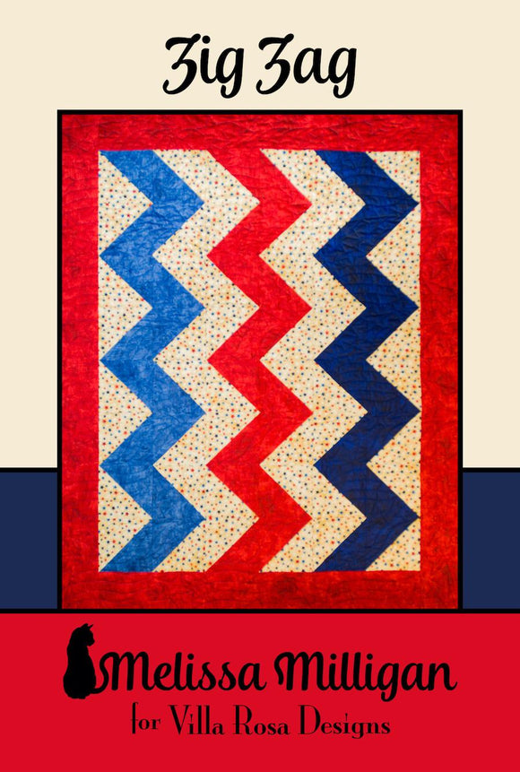 Zig Zag by Melissa Milligan of Villa Rosa Designs