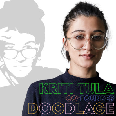 Sustainability is a Lifestyle, CoFounder Of Doodlage Kriti Tula