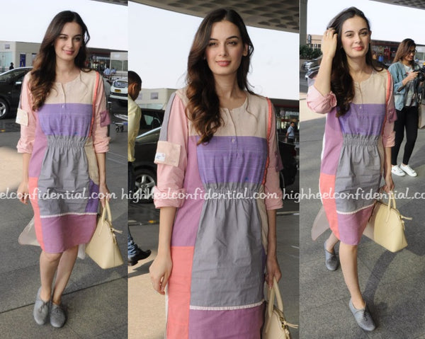 Airport Look - Evelyn Sharma