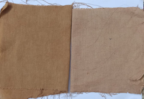 Naturally Dyed Handwoven swatches