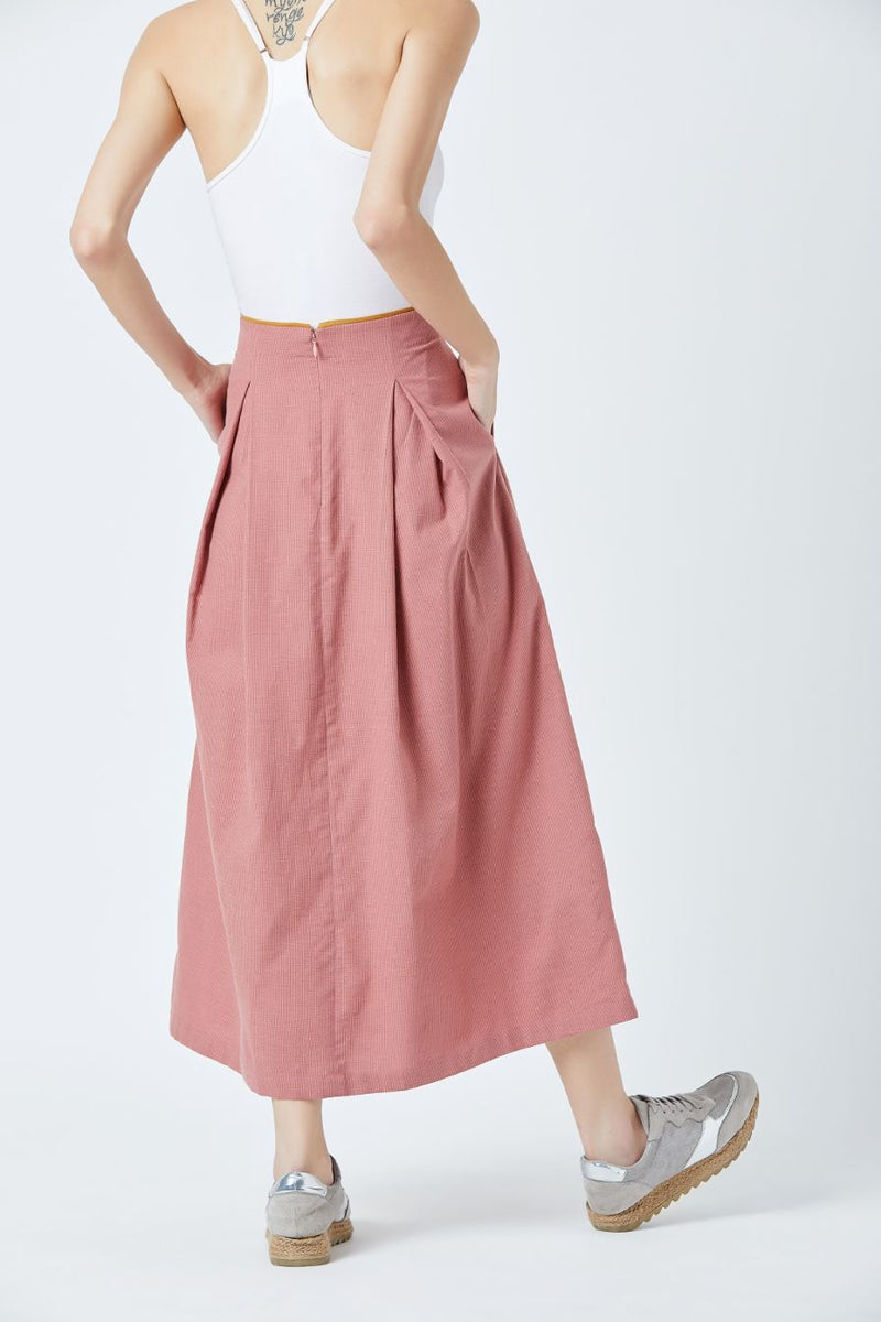 Davis Pleated Skirt
