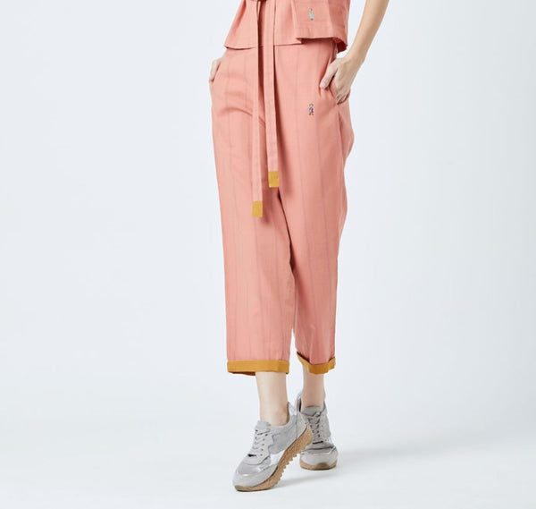 Fildes Orange Pants
