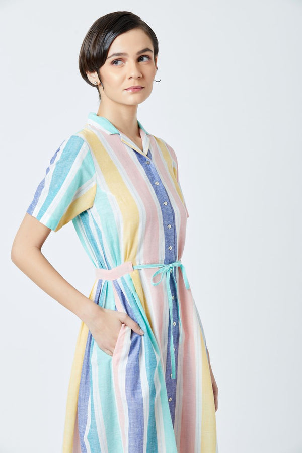 Multicolor Emma Dress
