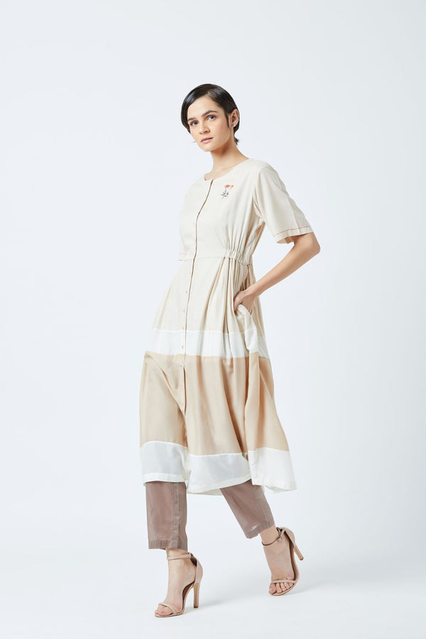 Side Elastic Tunic