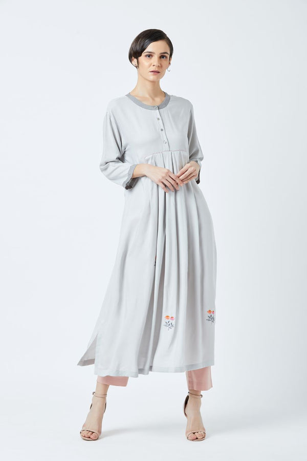 Front Pleat Tunic