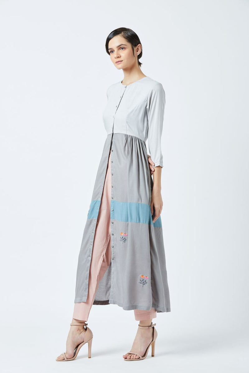 Side Gathered Dress