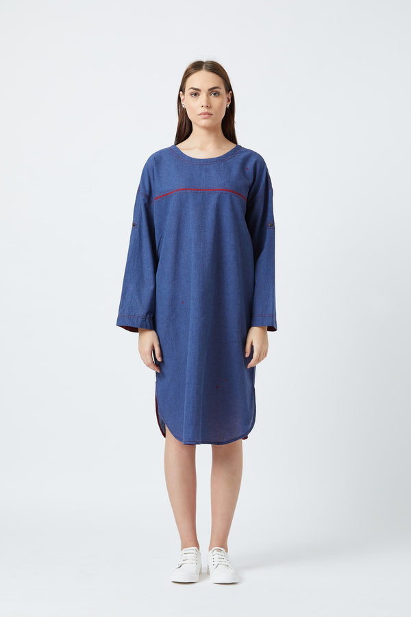Amy Blue Tunic