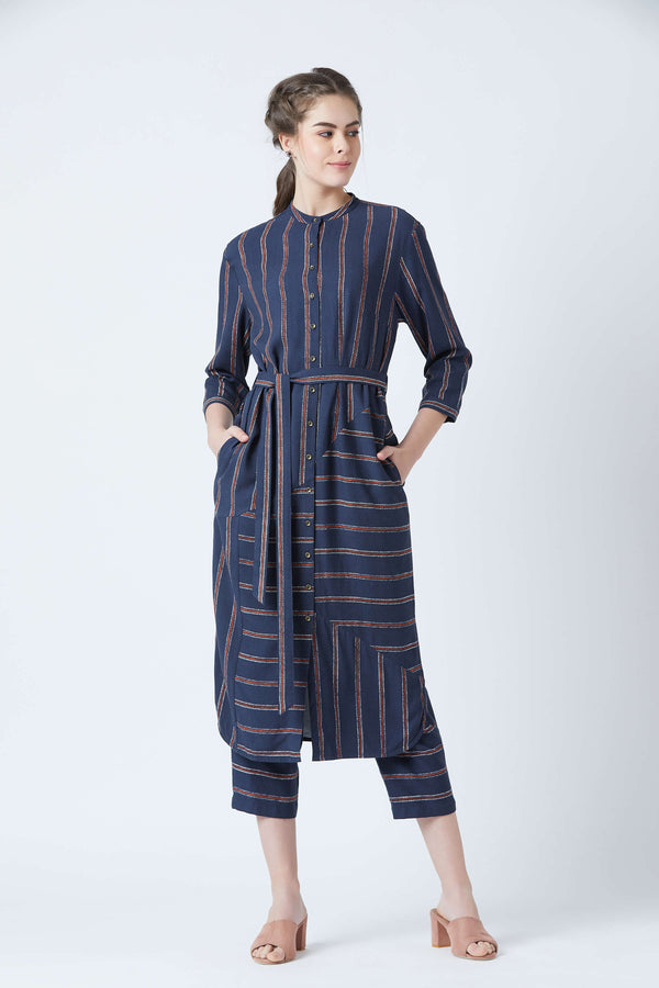Sehela Blue Tunic
