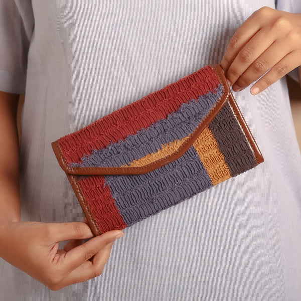 Chipper Textured Clutch