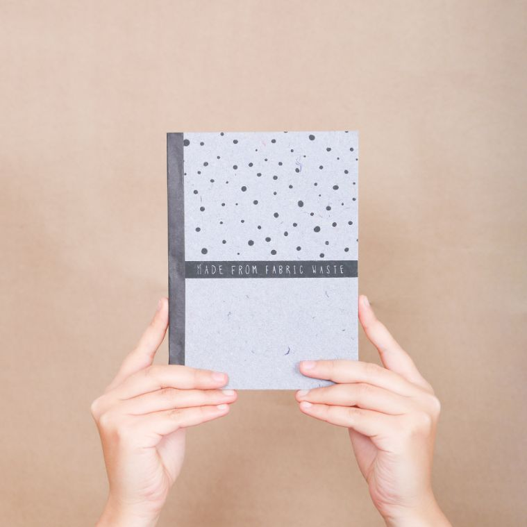 Starry Night' Slogan Notebook