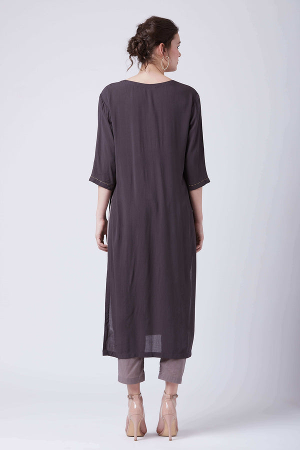 Grey Hirsi Tunic