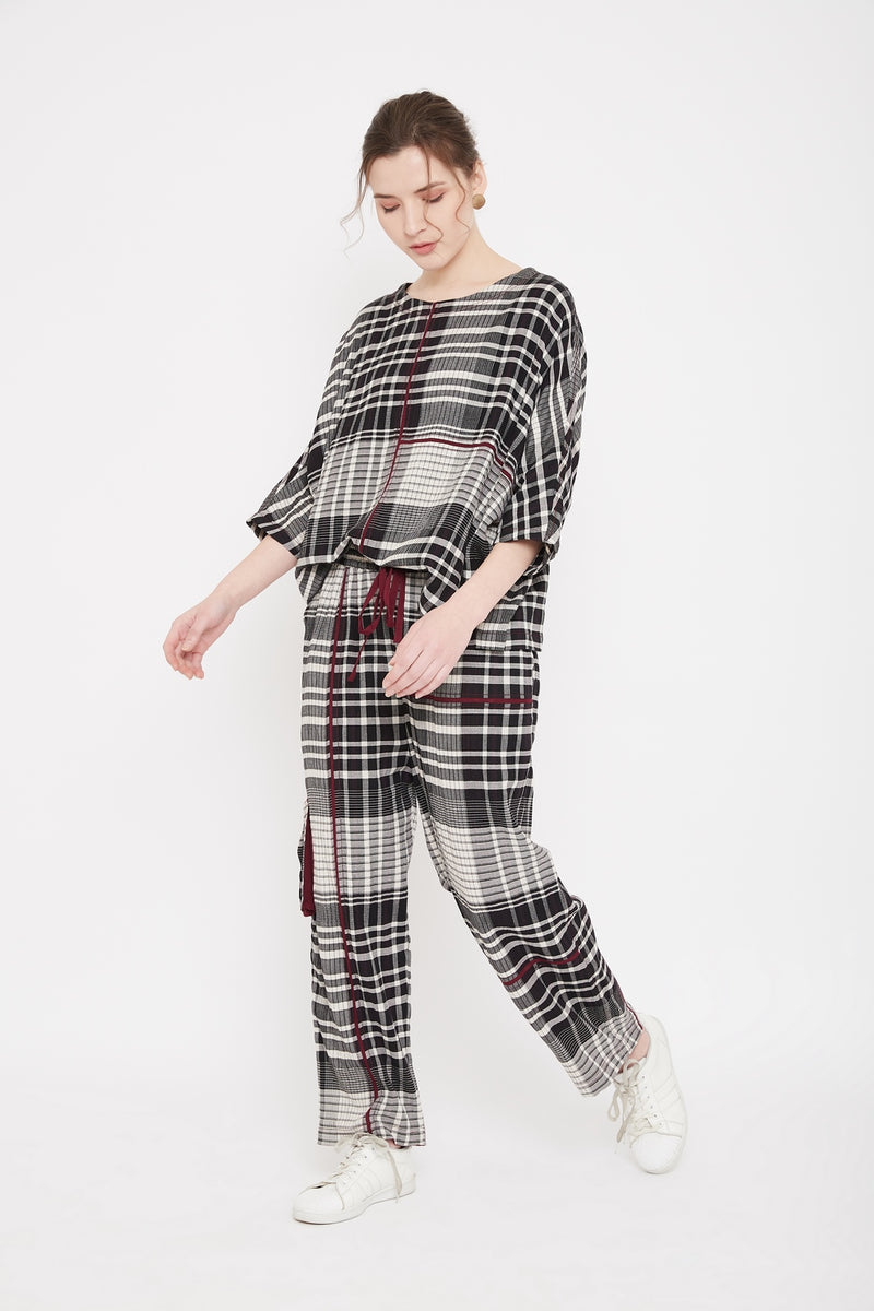 Belle Checkered Set