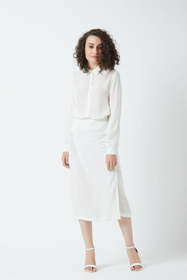 Pramila White Dress