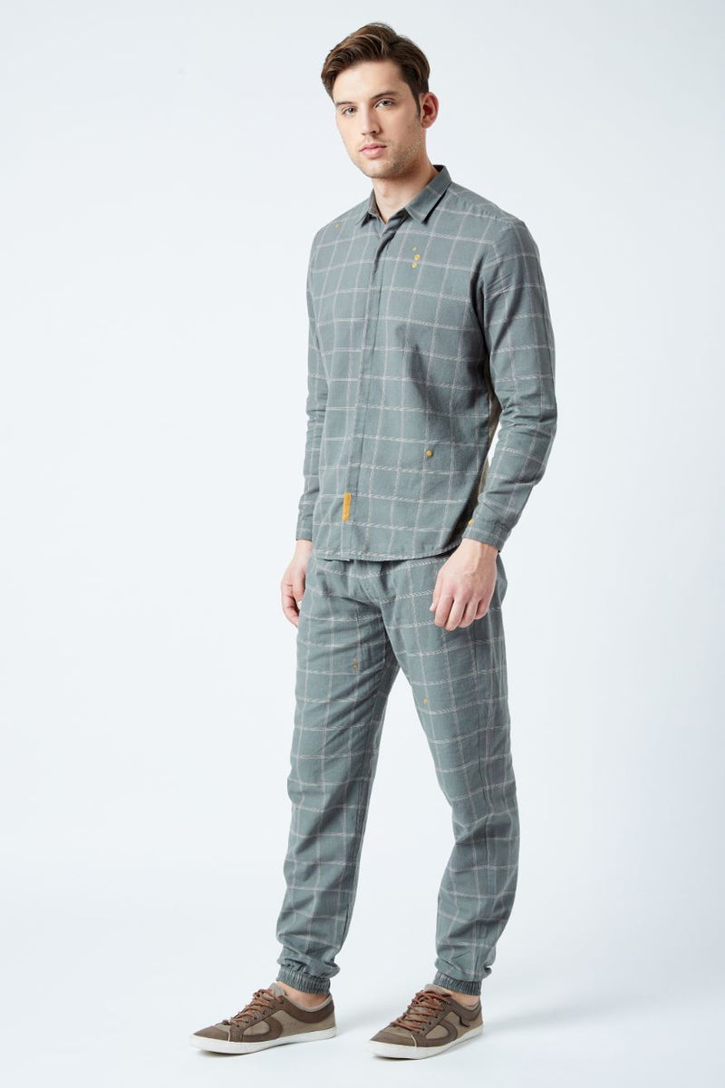 Percy Check Trousers