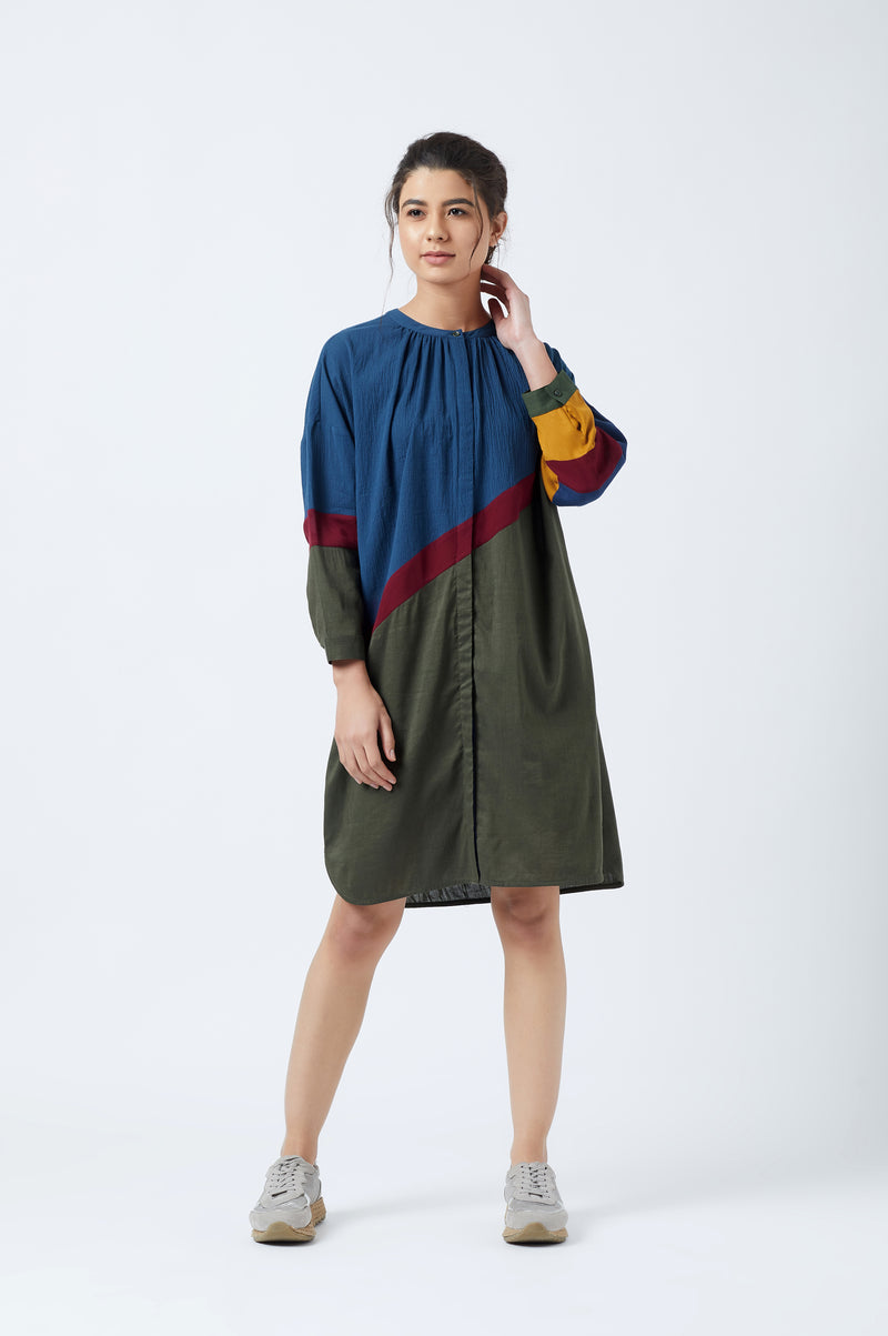 Yuko Panelled Tunic