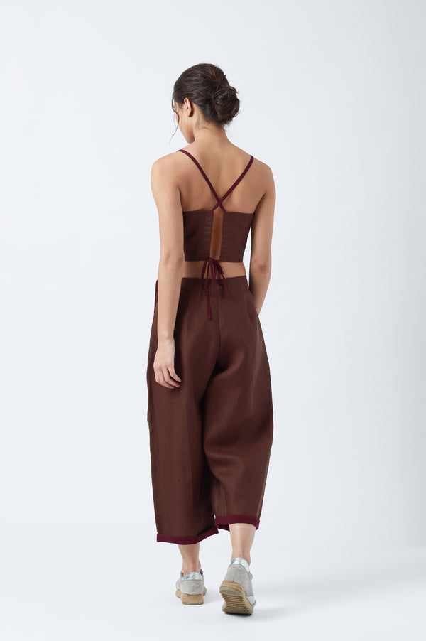 Alicia Overlap Pants