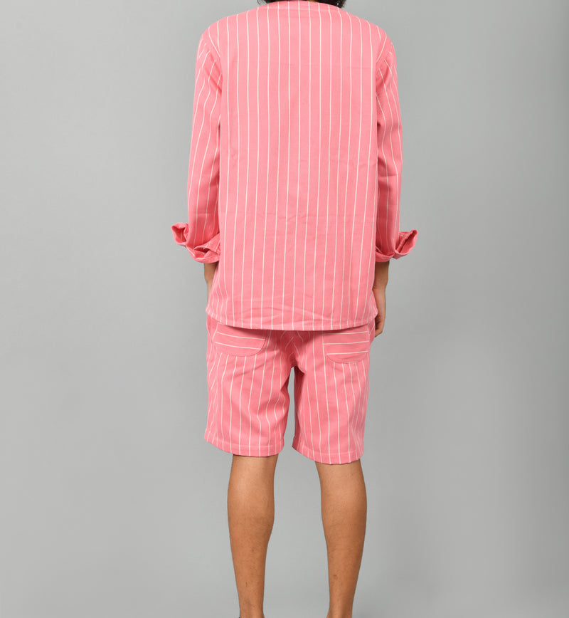 Pink Stripe Set