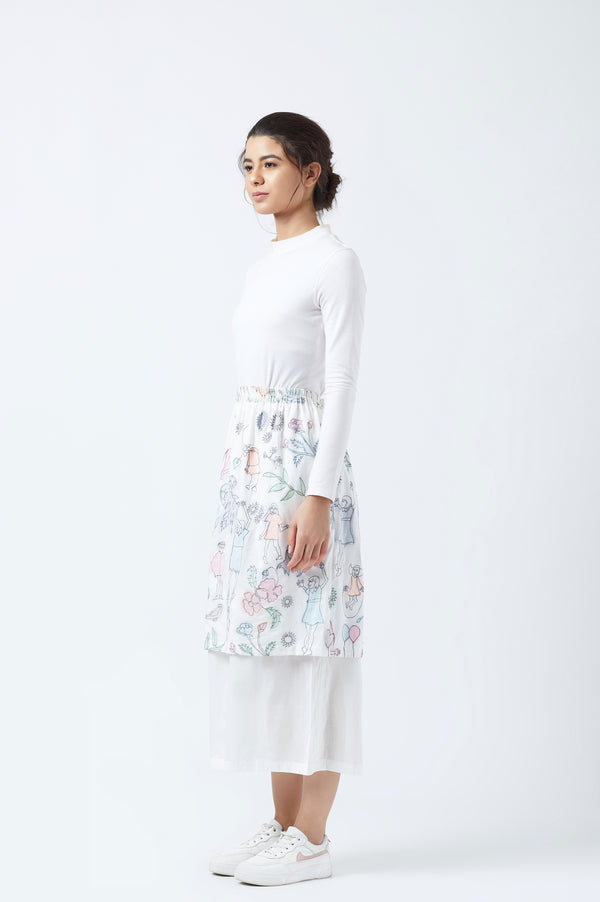 Cloudwalker Applique Skirt