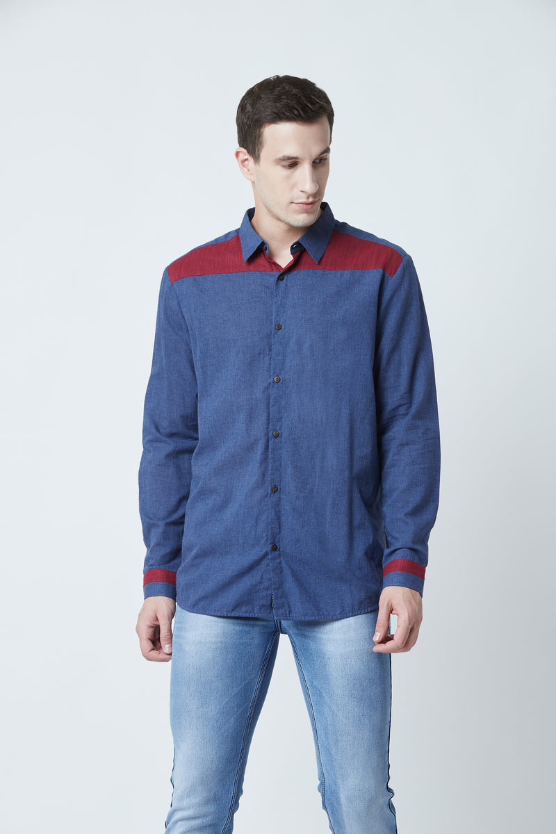 Blue Wiley Shirt