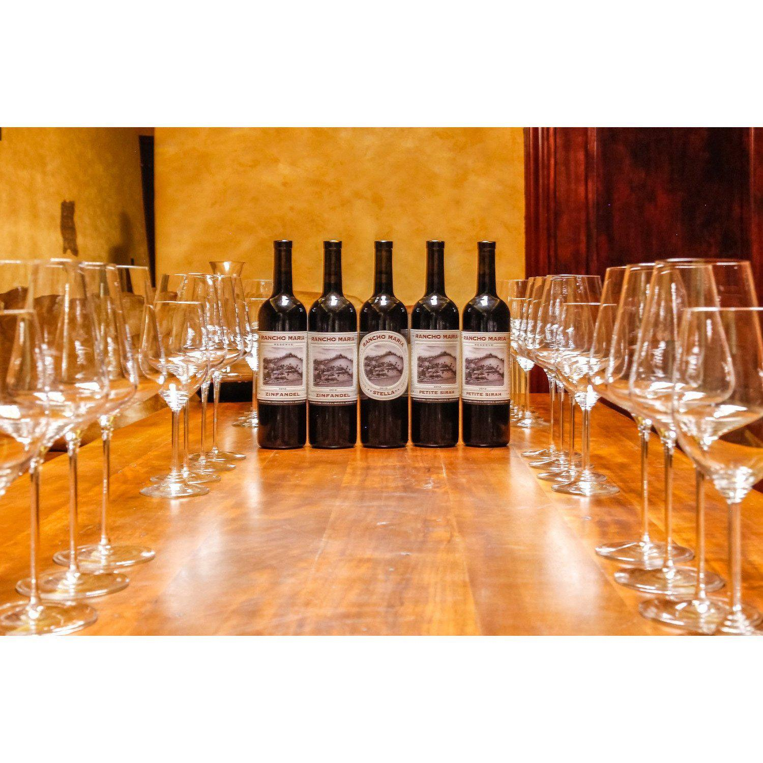 Reservation Request RanchoMariaWines