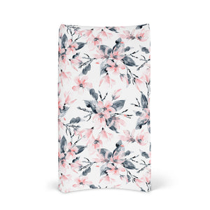 BASSINET SHEET & CHANGE MAT COVER | WATERCOLOUR BLOSSOM