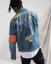 Load image into Gallery viewer, RED TAG DENIM JACKET
