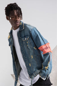 RED TAG DENIM JACKET